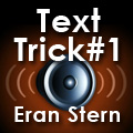Thumbnail for: Eran Stern: Text Trick Part 1